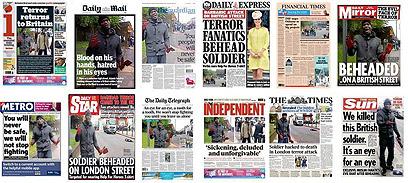 הסיפור שתפס את כל הכותרות הראשיות בבריטניה ()