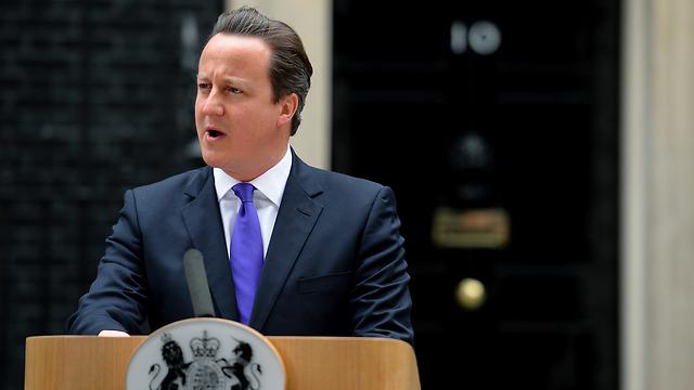 סוכנות הביון שלו מקיימת מגעים עם הרודן הסורי? ראש ממשלת בריטניה קמרון (צילום: AFP) (צילום: AFP)