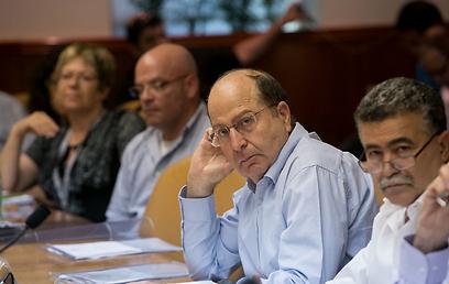 """חברי ועדת פרי בהצבעה בלשכת רה""""מ, היום (צילום: אוהד צויגנברג) (צילום: אוהד צויגנברג)"""