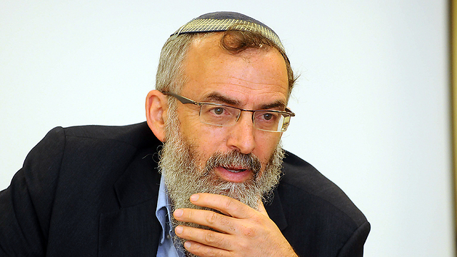 Rabbi David Stav, head of the Tzohar rabbinical organization (Photo: Yossi Zeliger)