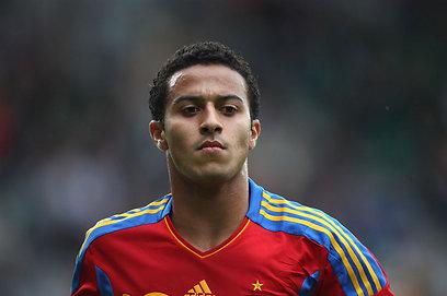 האב זכה במונדיאל עם ברזיל, הבן משחק בספרד. טיאגו אלקנטרה (צילום: gettyimages)