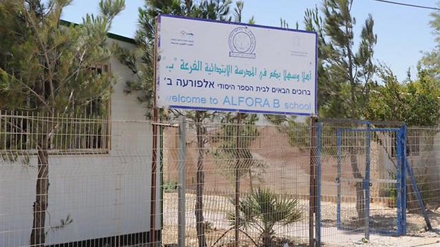 בית ספר בפזורה הבדואית. ארכיון (צילום: הרצל יוסף) (צילום: הרצל יוסף)