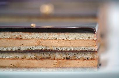 דוגמנית. עוגת האופרה של רביבה אפל (צילום: דנה זונשיין) (צילום: דנה זונשיין)