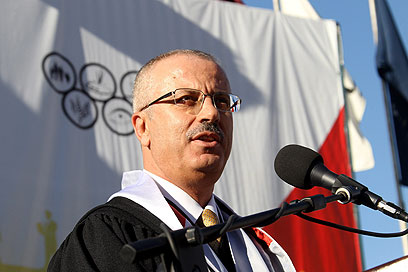 Palestinian Prime Minister Rami Hamdallah (Photo: EPA)