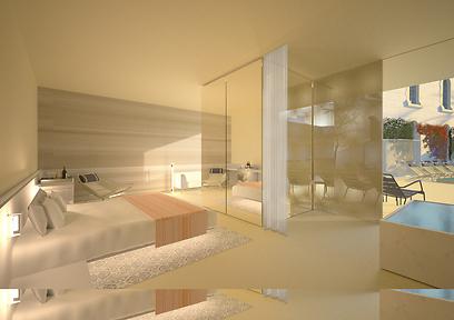 כך ייראה חד במלון. המחירים: כנראה סביב 350 דולר ללילה (צילום: Felix Montesquiou) (צילום: Felix Montesquiou)