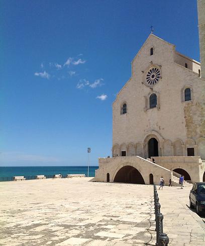 בזיליקת סן ניקולה בבארי (צילום:  אליאור לוי) (צילום:  אליאור לוי)