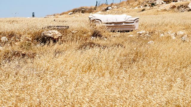 רמת מגרון. אחרי פינויה, פעילי ימין קיצוני עברו לגבעת הבלאדים (צילום: גור דותן) (צילום: גור דותן)