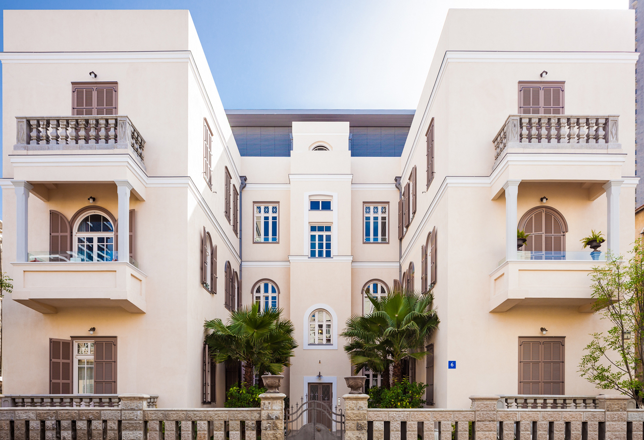 בניינים לשימור העיר הלבנה בתל-אביב (צילום: חברת בנייני העיר הלבנה) (צילום: חברת בנייני העיר הלבנה)
