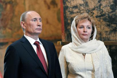 7 במאי 2012 בקרמלין (צילום: AFP) (צילום: AFP)