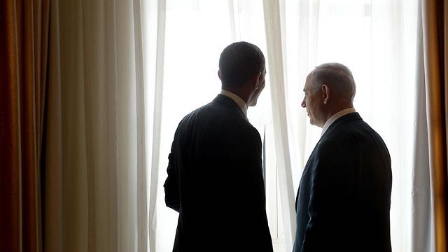 Obama and Netanyahu in Jerusalem (Photo: Avi Ohayon, GPO)