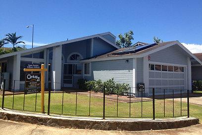 הבית בהוואי שבו התגורר המדליף ביחד עם חברתו (צילום: AP)