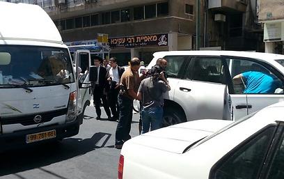 חנקישייב בעת המעצר ()