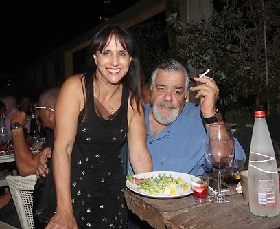הבוס הגדול, רפי גינת ואשתו נאוה (צילום: ענת מוסברג) (צילום: ענת מוסברג)