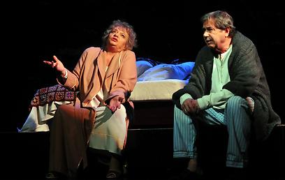 """""""מלאכת החיים"""" של חנוך לוין. לקרוא במחזה כמו בספר שירה (צילום: רוברט יבורסקי) (צילום: רוברט יבורסקי)"""