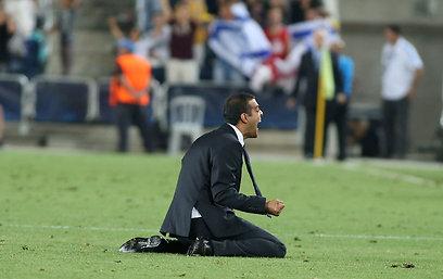 גיא לוזון. יכול ללמוד משהו מהמאמן המצרי (צילום: ראובן שוורץ) (צילום: ראובן שוורץ)