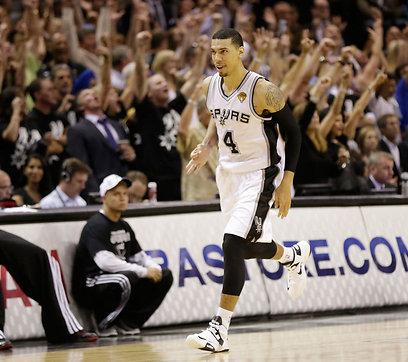 דני גרין בגמר ה-NBA. מאז הוא חוזר לאלמוניותו (צילום: AP) (צילום: AP)