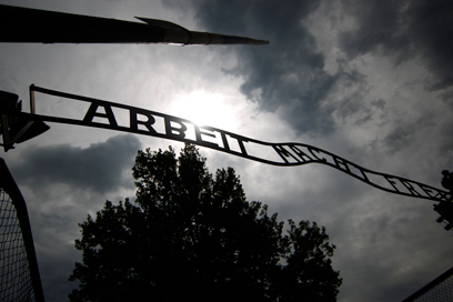 The 'Arbeit Macht Frei' sign in Auschwitz (Photo: Reuters) (Photo: Reuters)