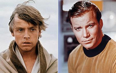 קפטן קירק ולוק סקייווקר. מי נמהר, מי מתבגר? ()