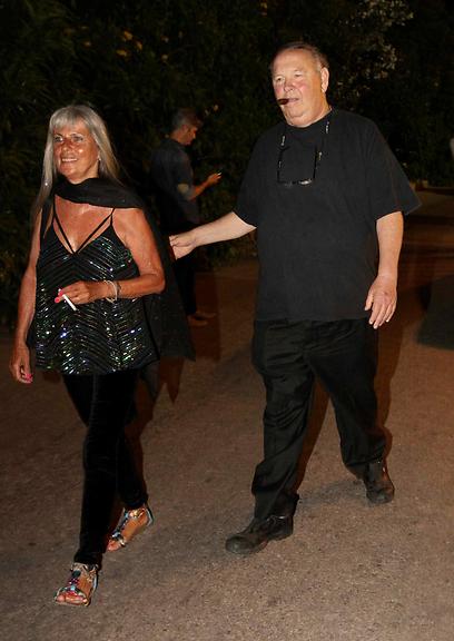 לא פספסו. יגאל שילון ואשתו (צילום: עידו ארז) (צילום: עידו ארז)