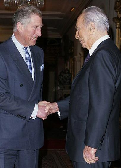 פגישה בלונדון עם הנסיך צ'ארלס (צילום: AFP) (צילום: AFP)