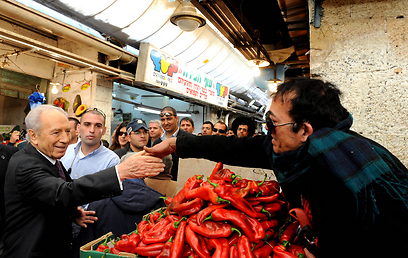 """ביקור בשוק מחנה יהודה (צילום: משה מילנר, לע""""מ) (צילום: משה מילנר, לע"""