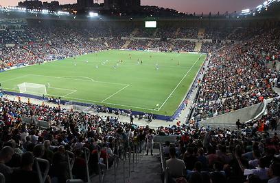 אצטדיון טדי. יארח משחקים ביורו? (צילום: אורן אהרוני) (צילום: אורן אהרוני)