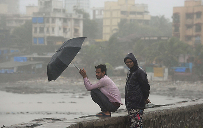 העיר מומביי בהודו (צילום: AFP) (צילום: AFP)