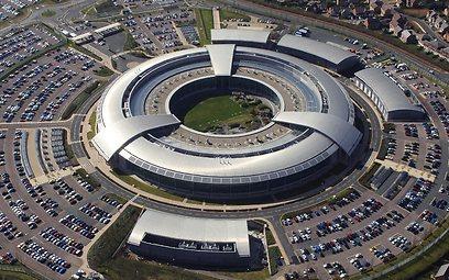 """סוכנות הביון הבריטית. מעבירה מידע לארה""""ב (צילום: EPA)"""
