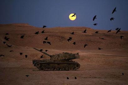 גבול ישראל-ירדן (צילום: AFP) (צילום: AFP)