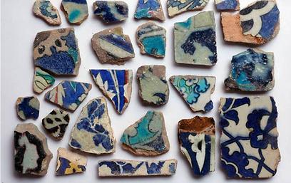 ממצאים ששרדו במעמקי הר הבית אלפי שנים (צילום: אלי מנדלבאום)