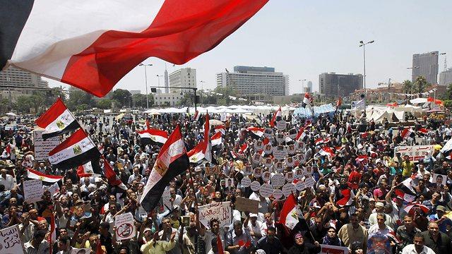 Demonstrations against previous Egyptian President Mohamed Morsi (Photo: AP)