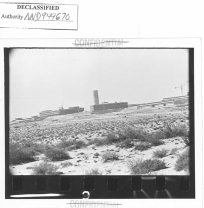 The reactor in its early days (National Security Archive)