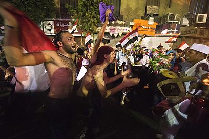 ריקודים ותופים לתוך הלילה (צילום: AFP) (צילום: AFP)
