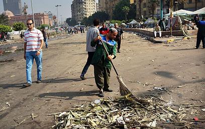 מנקים אחרי החגיגות (צילום: gettyimages) (צילום: gettyimages)