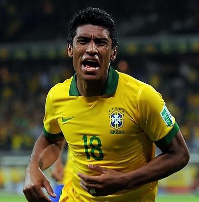 עמוד תווך בנבחרת הברזילאית (צילום: גטי אימג'ס) (צילום: גטי אימג'ס)