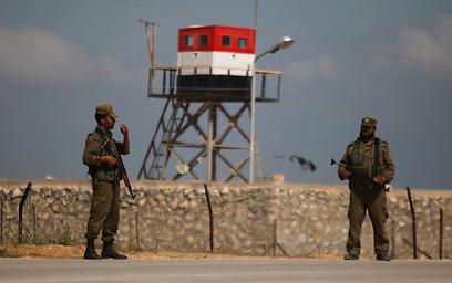 Egypt-Gaza border