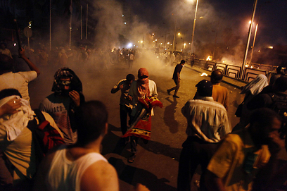 Clashes in Cairo (Photo: AFP)