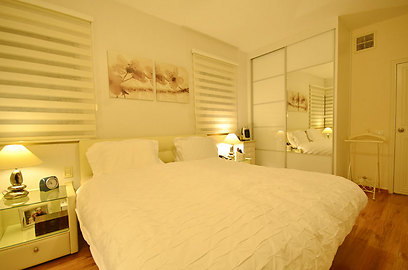 חדר השינה של ההורים (צילום: אורן טייטל) (צילום: אורן טייטל)