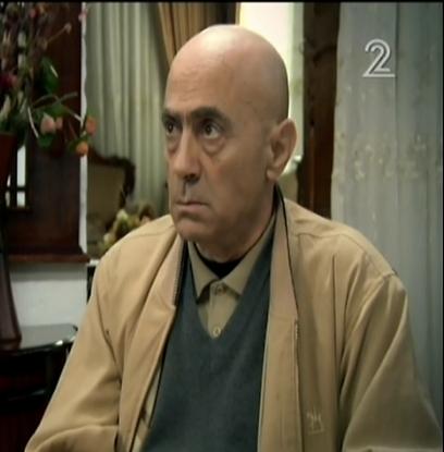 """סלים דאו כאבו אמג'ד ב""""עבודה ערבית"""". יודע לקלל כשצריך (צילום: ערוץ 2) (צילום: ערוץ 2)"""