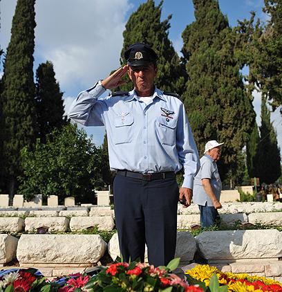 הרב הצבאי הראשי, תת אלוף רפי פרץ (צילום: בני דויטש) (צילום: בני דויטש)