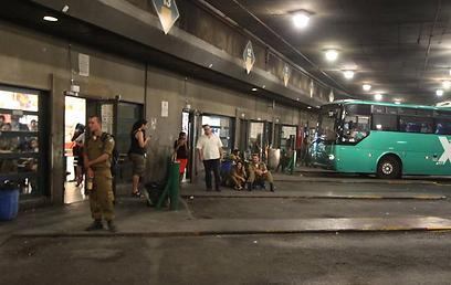 רציפי התחנה המרכזית בירושלים - זיהום אוויר חמור (גיל יוחנן)