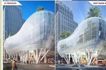 מרכז התחבורה בסן פרנסיסקו. מתוך inhabit.com ()