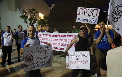 שנתיים למחאה ההיא, בכיכר התרבות בתל אביב  (צילום: מוטי קמחי) (צילום: מוטי קמחי)