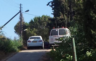 הרכב בו נשכחה התינוקת בשילה (צילום: איתמר פליישמן) (צילום: איתמר פליישמן)