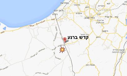 כאן אירעה תקרית הירי (מפה: Google maps) (מפה: Google maps)
