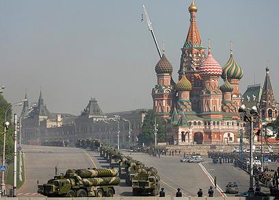 צבא רוסיה, ארכיון. איום תמידי מהקווקז (צילום: AP) (צילום: AP)