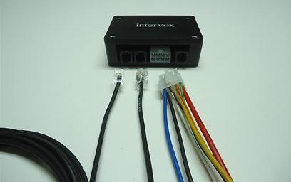 בייבי vox. המערכת יכולה להתממשק גם עם מצלמות האבטחה ברכב ההסעות ()