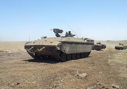 גדוד 51 בתרגיל. החיילים טענו כי התעמרו בהם (צילום: יואב זיתון) (צילום: יואב זיתון)