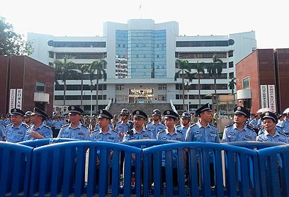 המשטר דואג לוודא שהתארגנויות המחאה יישארו מקומיות ולא יהפכו לתנועה לאומית (צילום: רויטרס)