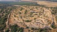 צילום: חברת  Skyview, באדיבות האוניברסיטה העברית ורשות העתיקות